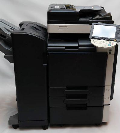 Barevná tiskárna KONICA MINOLTA bizhub C360+ finišer FS-527 sešívací
